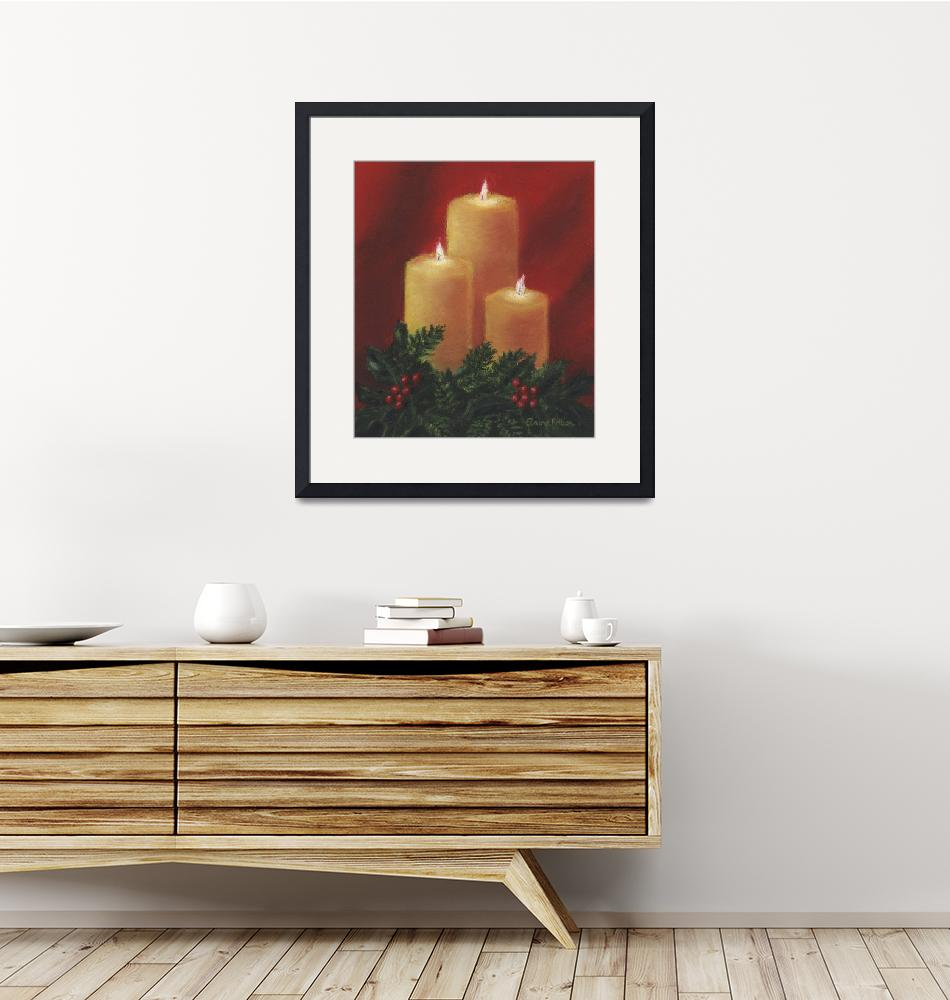 """""""Candle Trio"""" by elainerittler"""