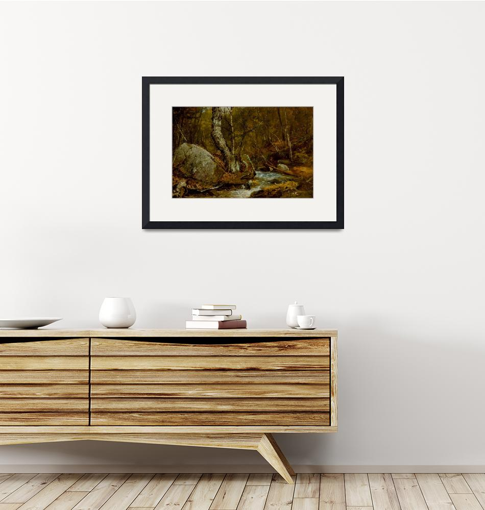 """""""Woodland Interior""""  by fineartmasters"""