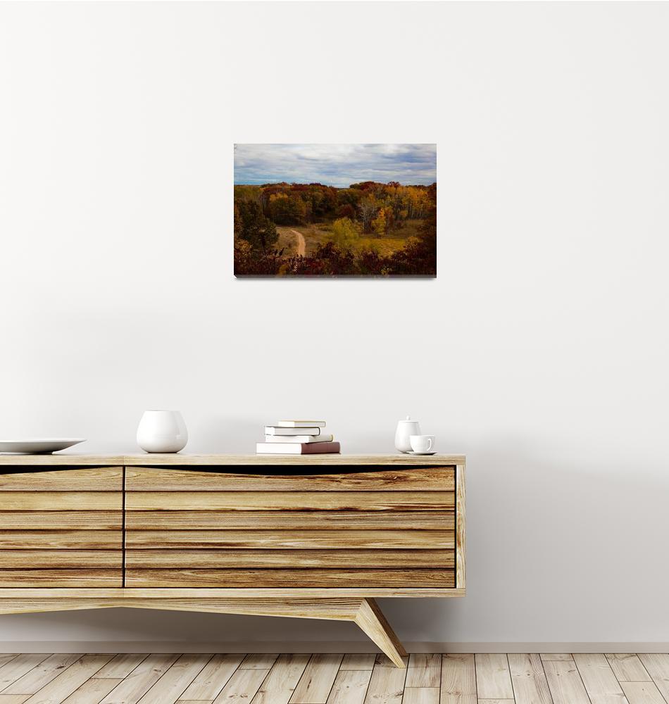 """Autumn Landscape""  (2012) by WaynePhotoGuy"