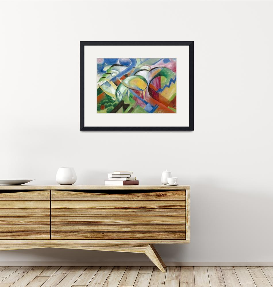 """""""Franz Marc~The Sheep""""  by Old_master"""