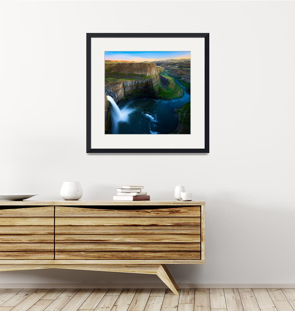 """Palouse Falls""  (2011) by Inge-Johnsson"