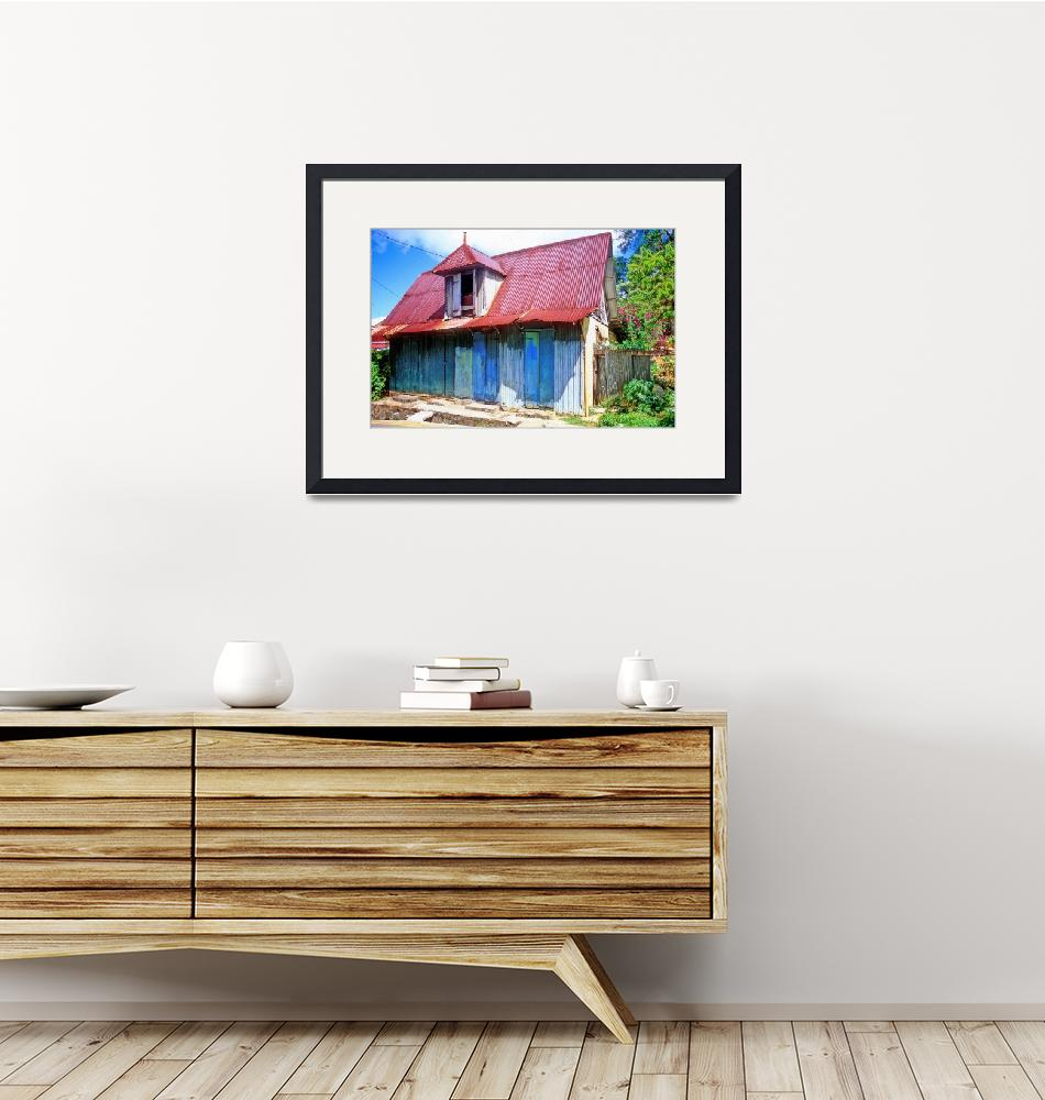 """""""Typical Seychelles House""""  (1994) by JoaoPonces"""