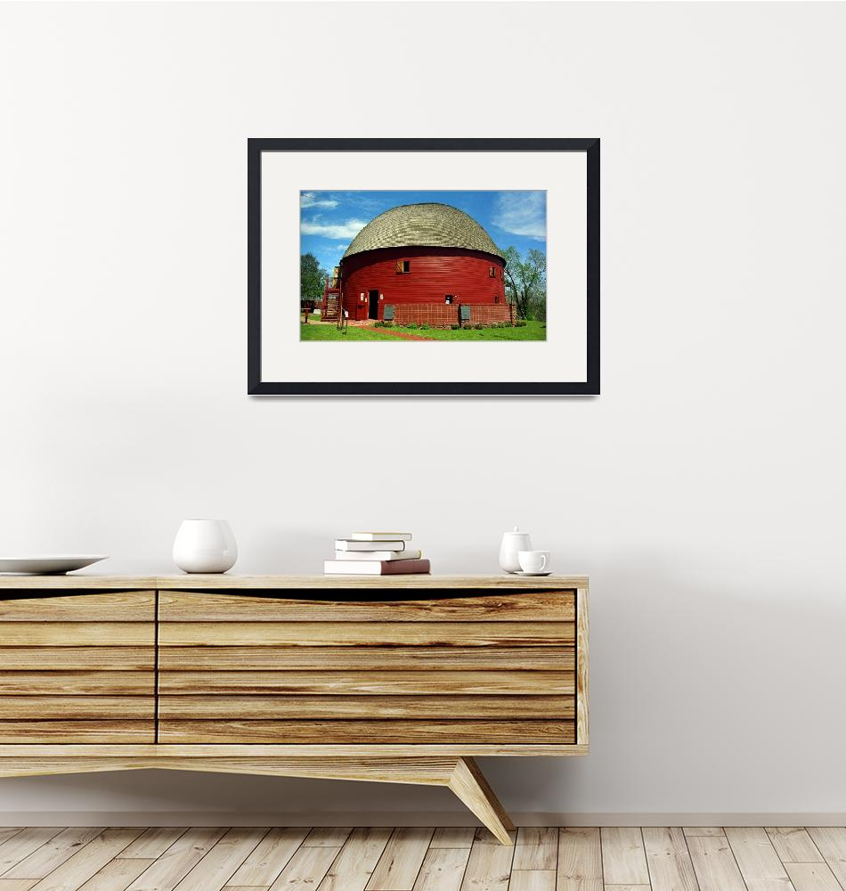 """Route 66 - Round Barn 2007""  (2007) by Ffooter"