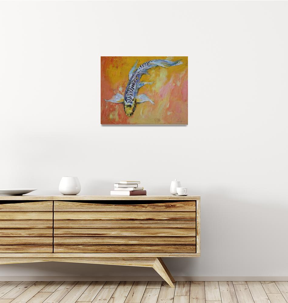 """Yellow Dragon Koi""  by creese"