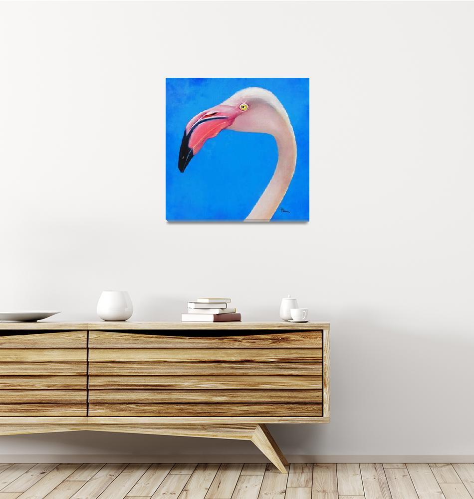 """""""Flamingo-A-Go-Go""""  by tammyleebradley"""