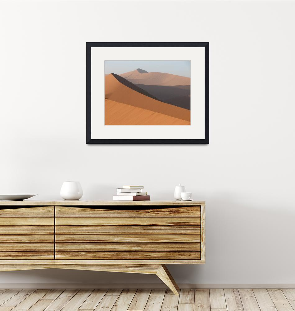 """""""African sand dunes""""  (2006) by bluejean"""