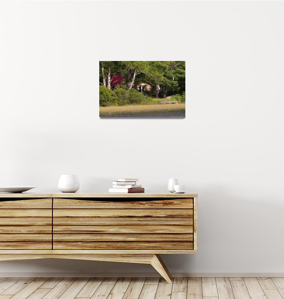 """Woodland Homestead""  (2010) by MichaelaSagatova"