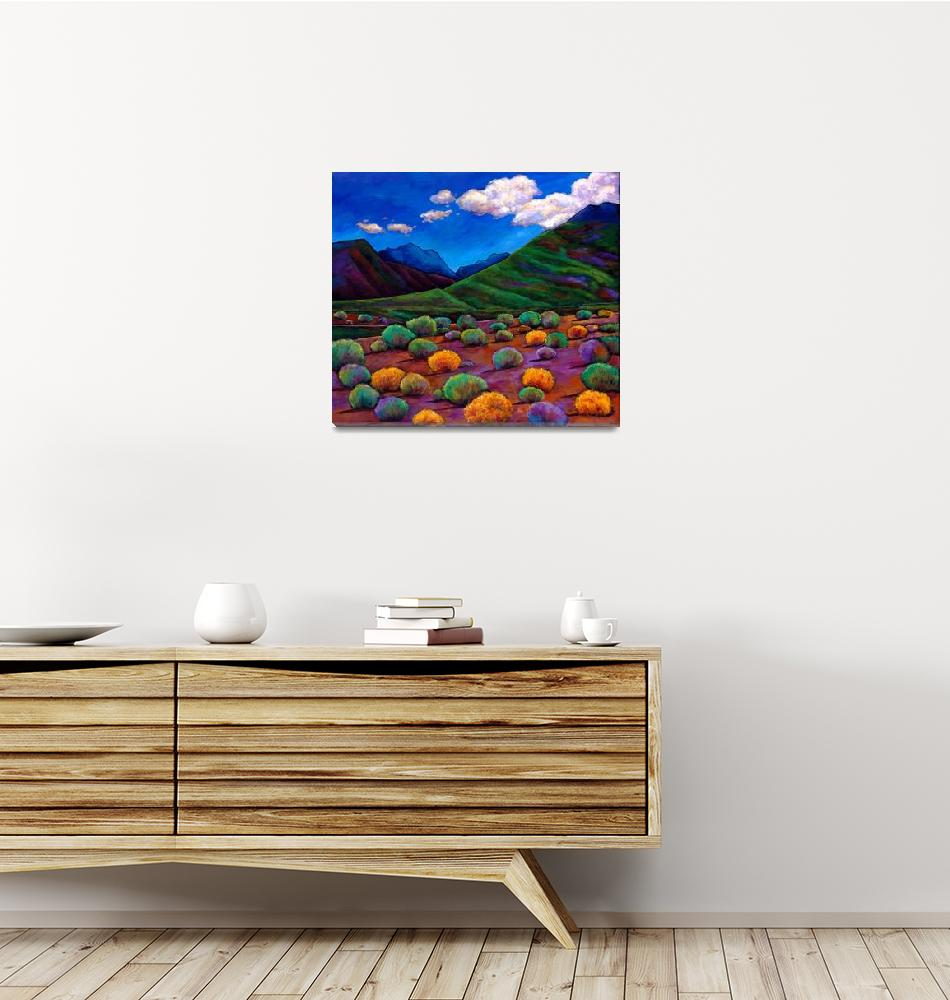 """Desert Valley""  (2010) by jhfineart"