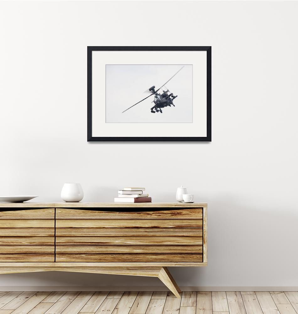 """""""Apache AH1 Attack Helicopter""""  (2009) by DestinysAgent"""