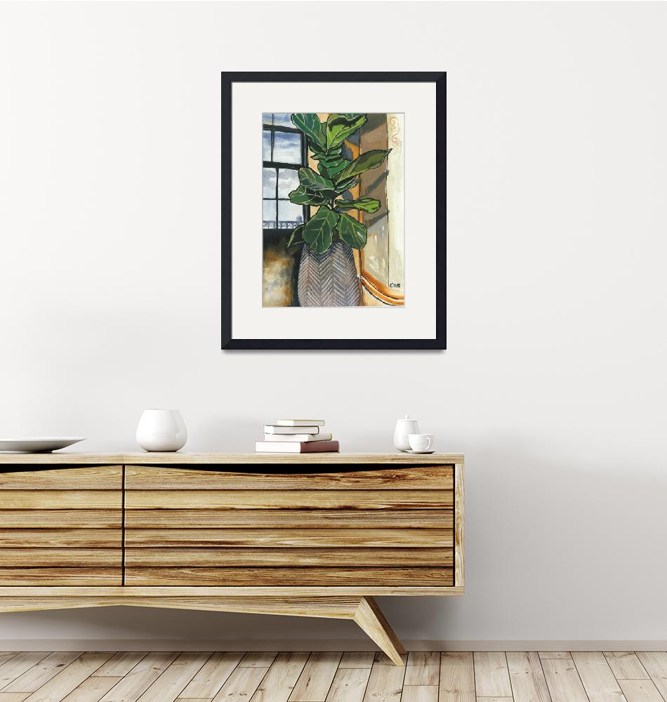 """""""Fiddle Leaf Fig""""  (2020) by ChristinaO"""