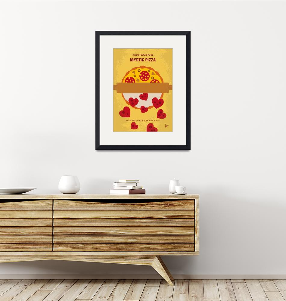 """No846 My Mystic Pizza minimal movie poster""  by Chungkong"