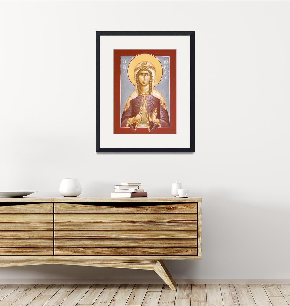 """St Barbara""  (2012) by ikonographics"
