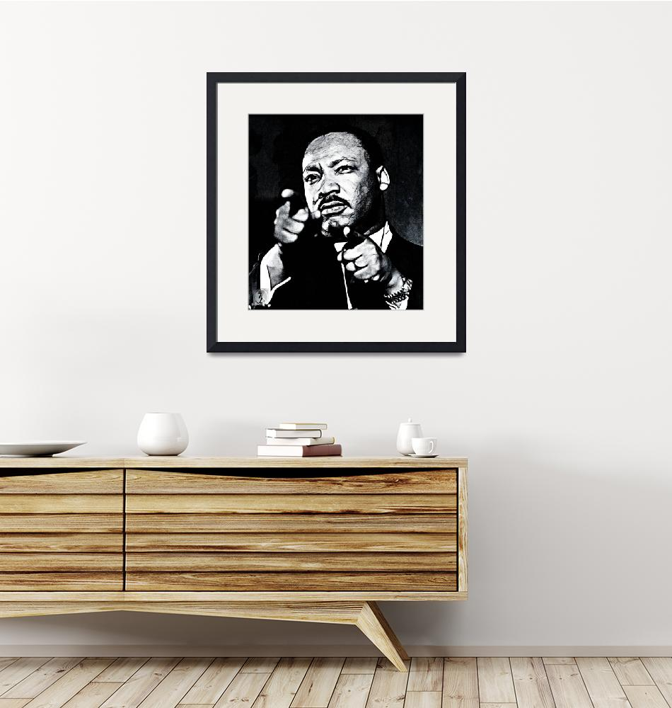 """""""Martin Luther the King""""  (2013) by D77TheDigArtisT"""