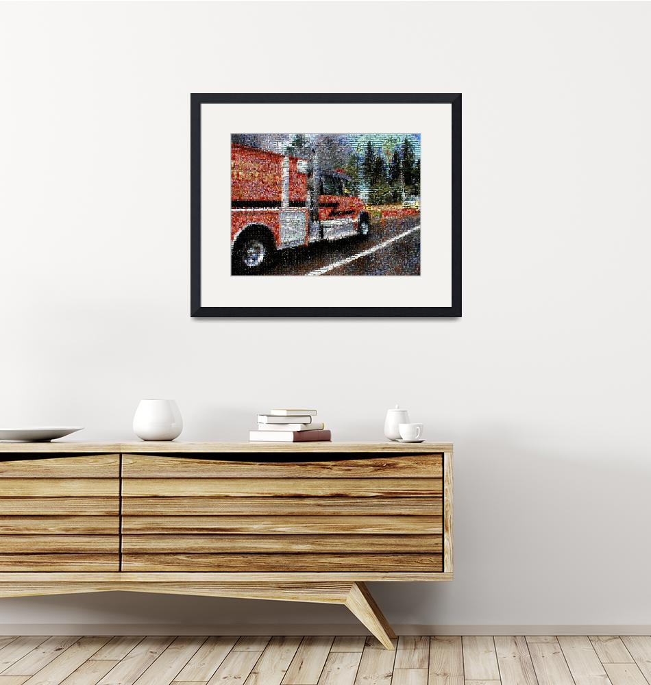 """""""Fire Engine"""" (2010) by vncstone"""