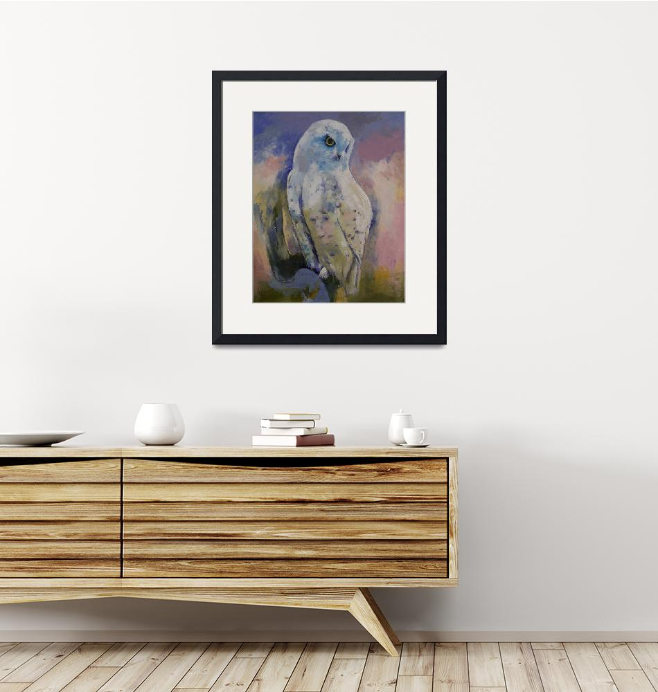 """""""Snowy Owl""""  by creese"""