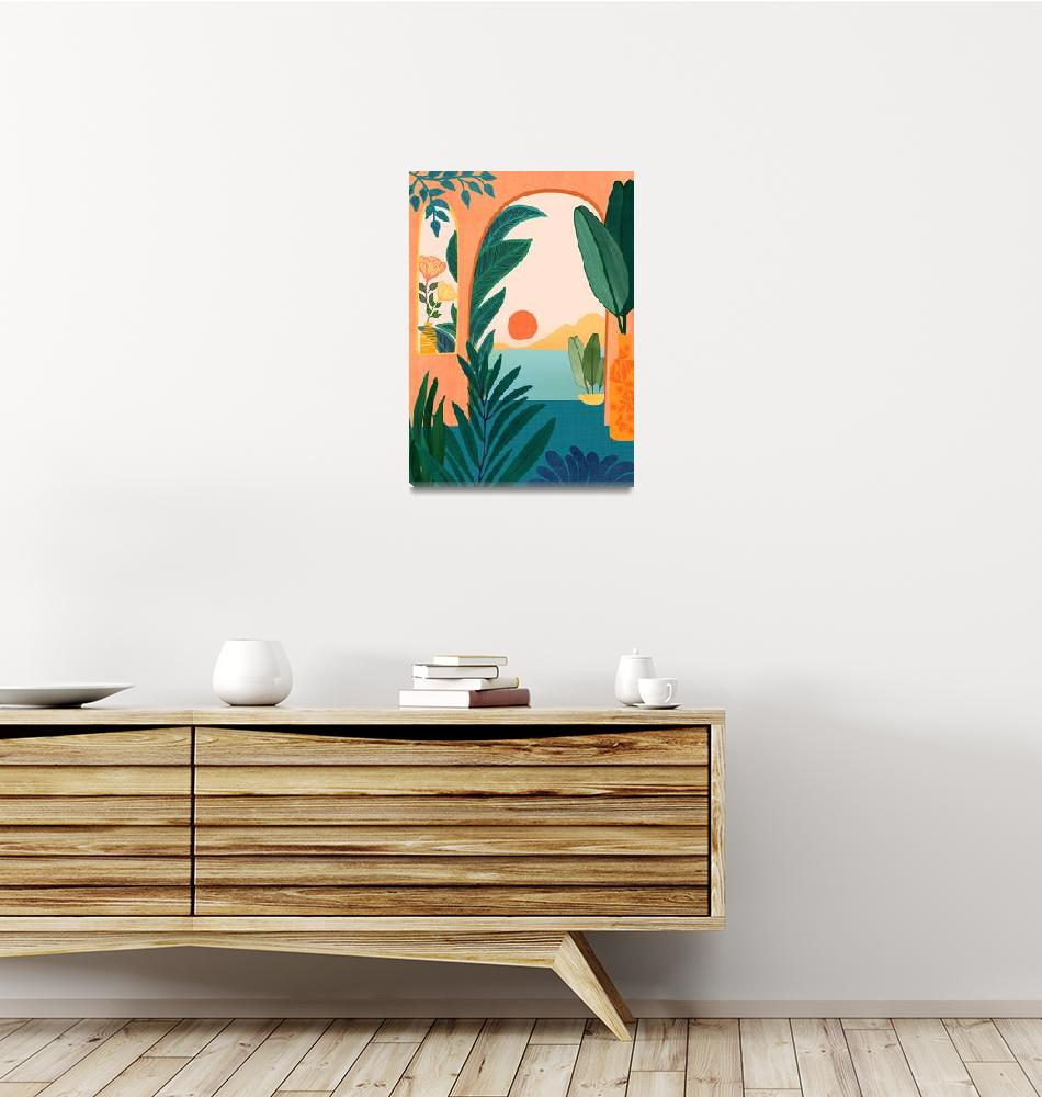 """""""Tropical Evening""""  (2020) by moderntropical"""