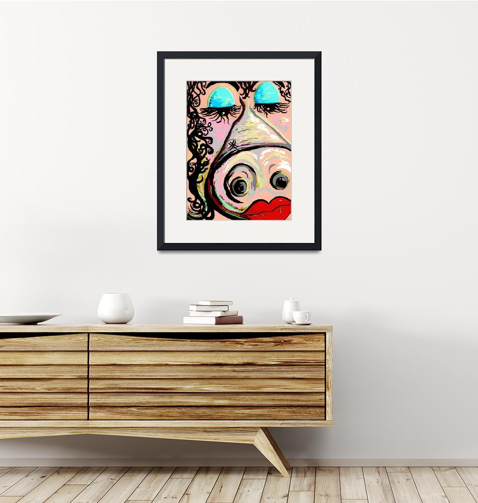 """""""Lipstick on a Pig"""" (2013) by EloiseArt"""