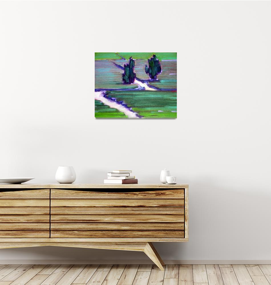 """Tea Garden for Sarah""  by AnnTuck"