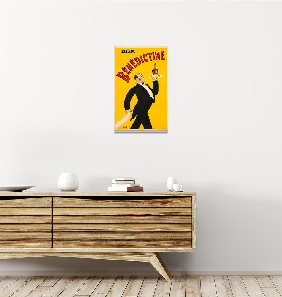 """Vintage Benedictine Advertisement""  by FineArtClassics"