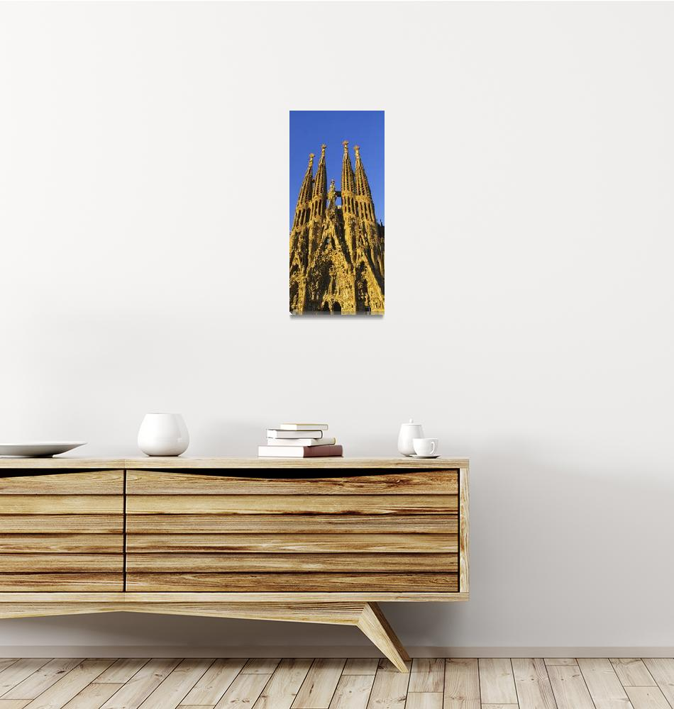 """""""Low angle view of a cathedral""""  by Panoramic_Images"""