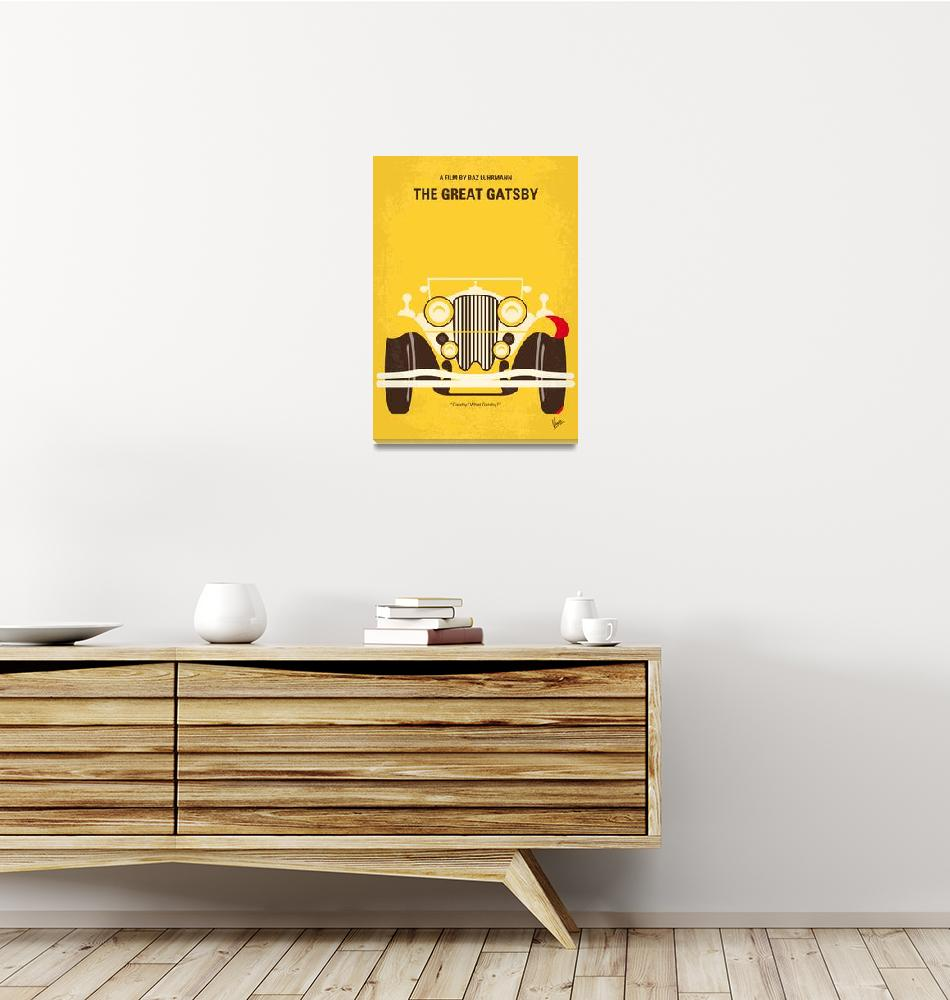 """No206 My The Great Gatsby minimal movie poster""  by Chungkong"