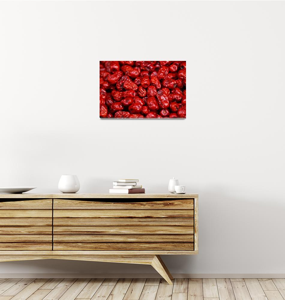"""Dried Red Dates""  (2007) by fberluteau"