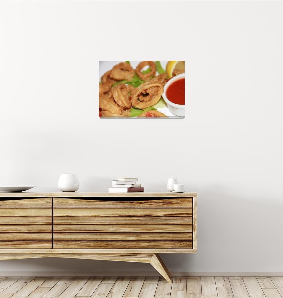 """Fried calamari""  (2010) by easyfigure"