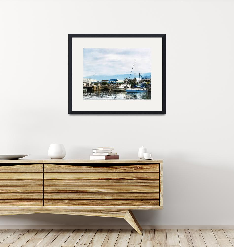 """Boats at Bridgetown Barbados""  by susansartgallery"
