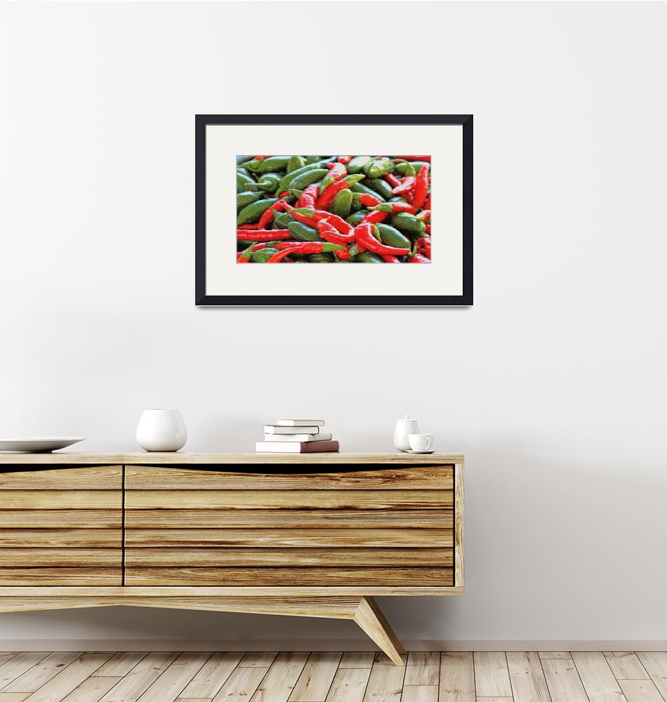"""""""Chili Peppers""""  (2015) by patsphotos"""