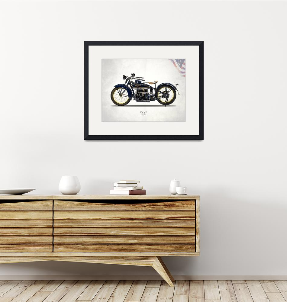 """""""The 1925 Henderson Four Motorcycle"""" by mark-rogan"""