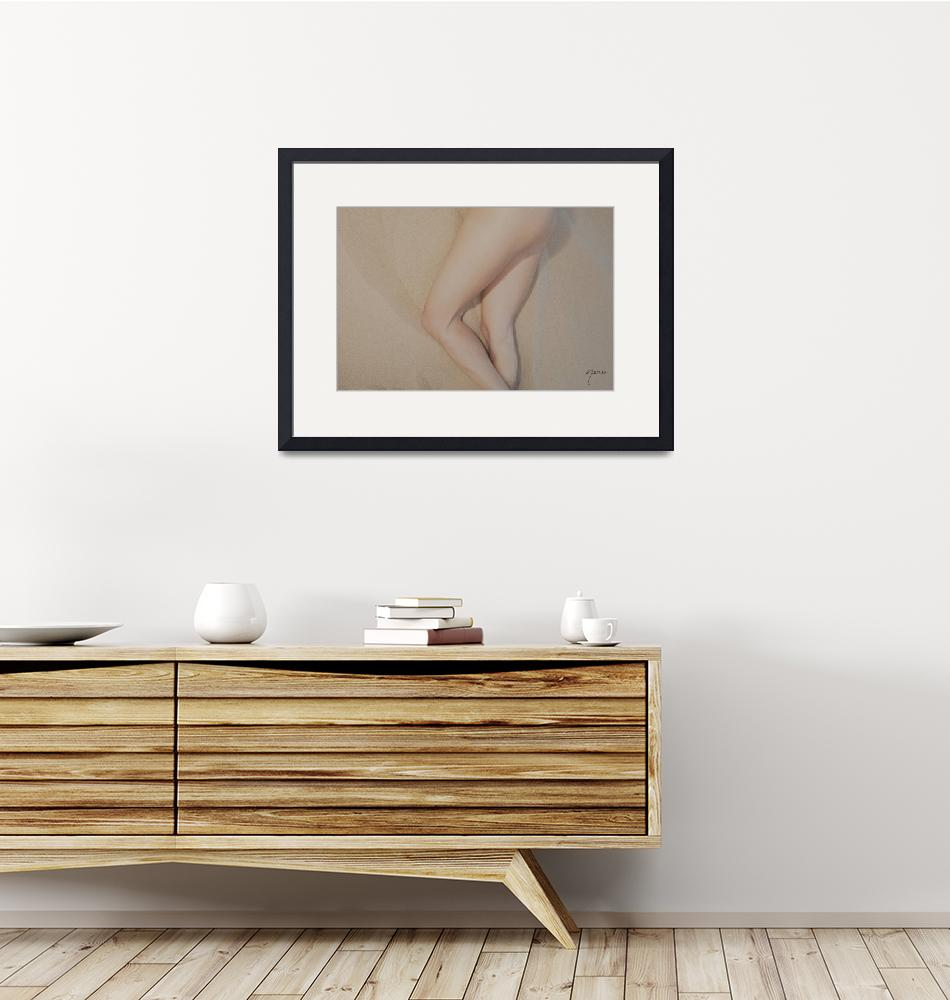 """""""1269 Sandy Dune Nude - Torso Bodyscape""""  by surxposed"""
