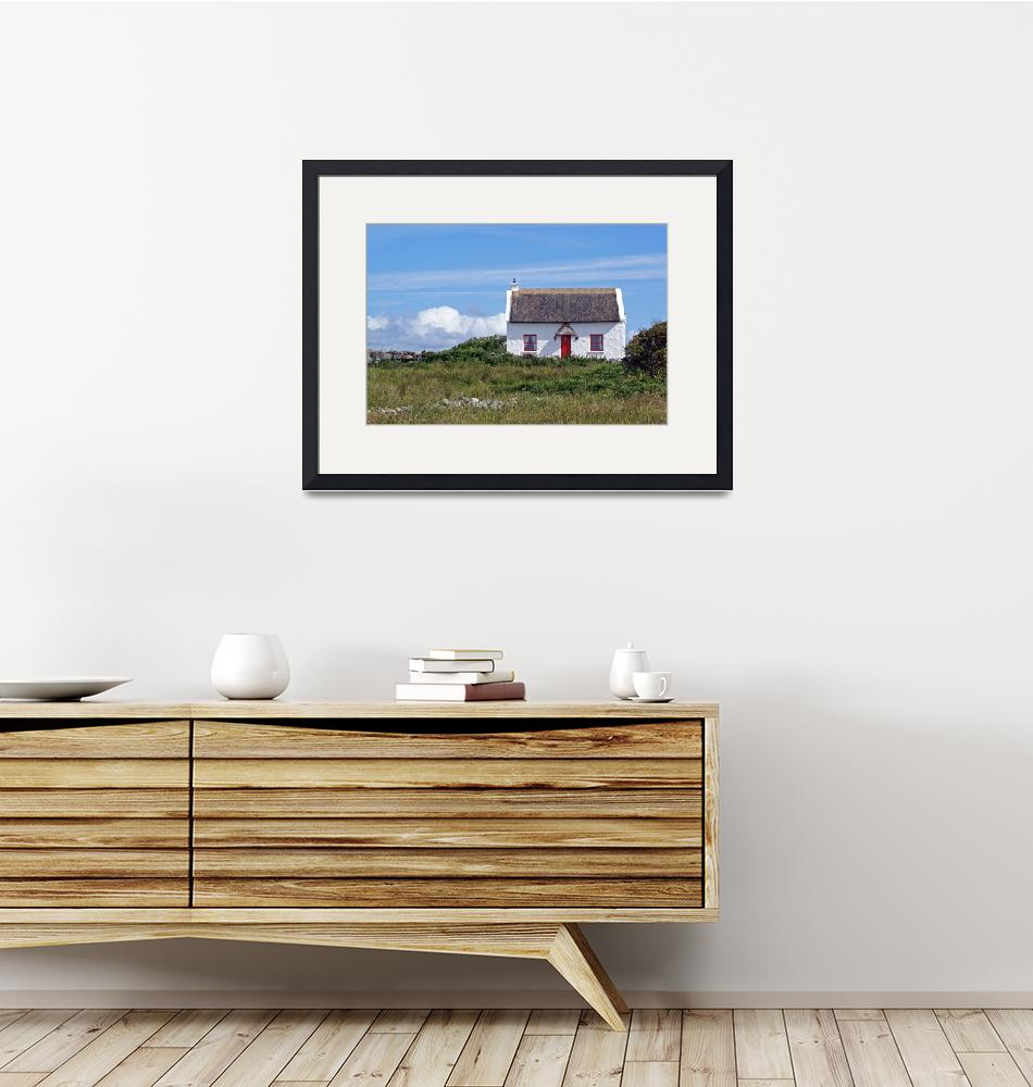 """""""Little White Cottage 1""""  (2009) by staceybassoon"""