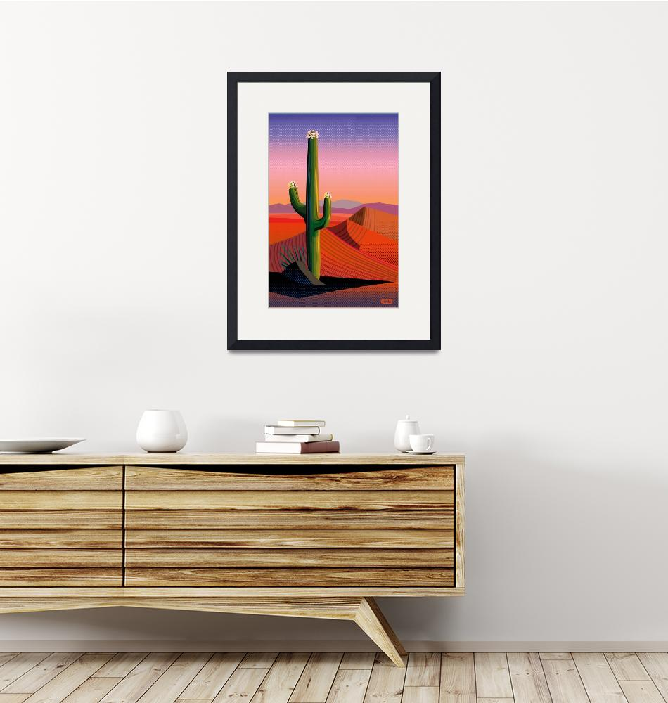 """""""Saguaro Blossoms (sig)""""  (2018) by charker"""