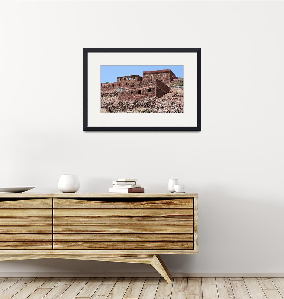 """Village in Atlas mountains""  by rhallam"