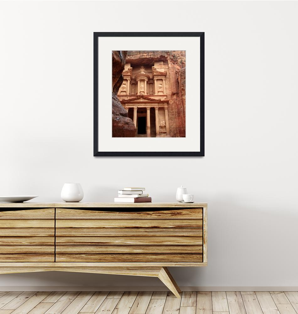 """""""Petra - Ancient  Architecture 1218""""  (2010) by rayjacque"""