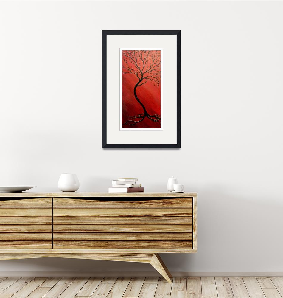 """""""Red Tree""""  (2008) by VeganMe"""