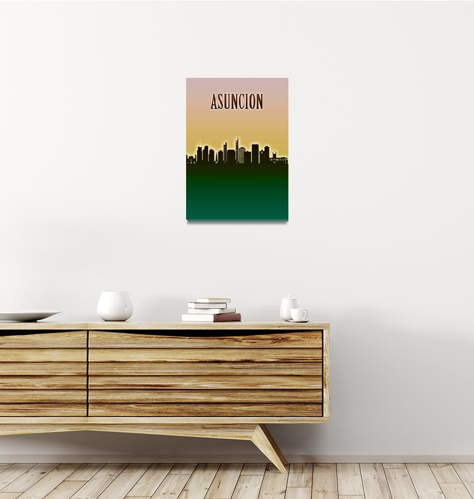 """""""Asuncion Skyline""""  by Towseef"""