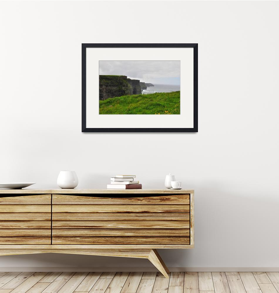 """""""The Cliffs of Moher""""  (2011) by RTMacGowan"""