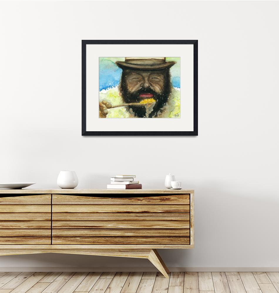 """Bud Spencer & Beans""  (2013) by Frankie80"
