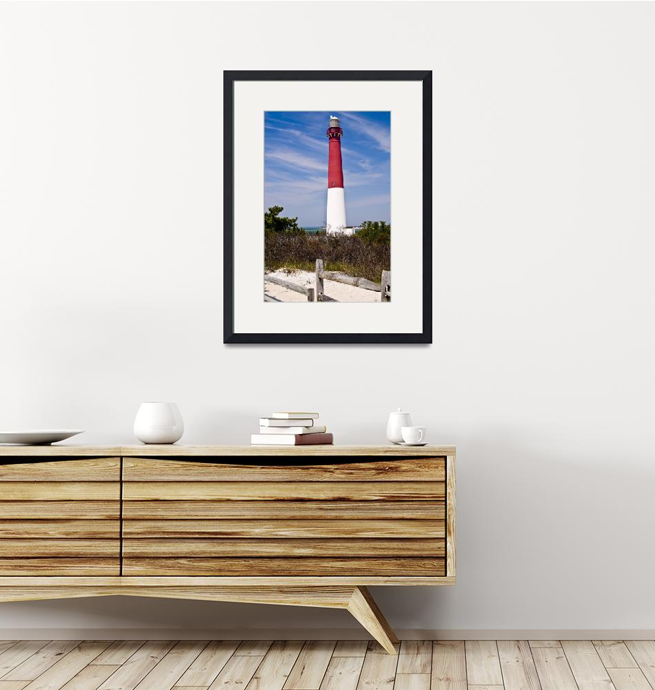 """Barnegat Lighthouse""  (2019) by photocatphoto"