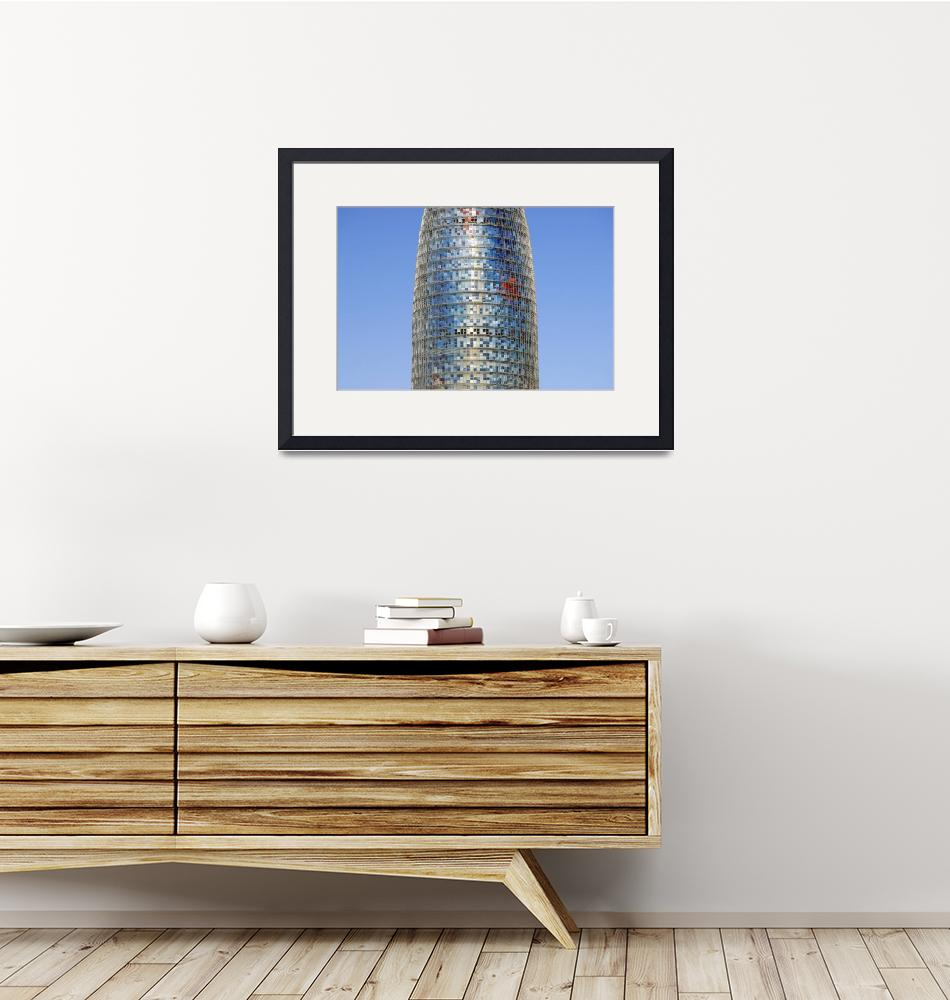 """Torre Agbar Skyscraper, Barcelona (Spain)""  by petrsvarc"
