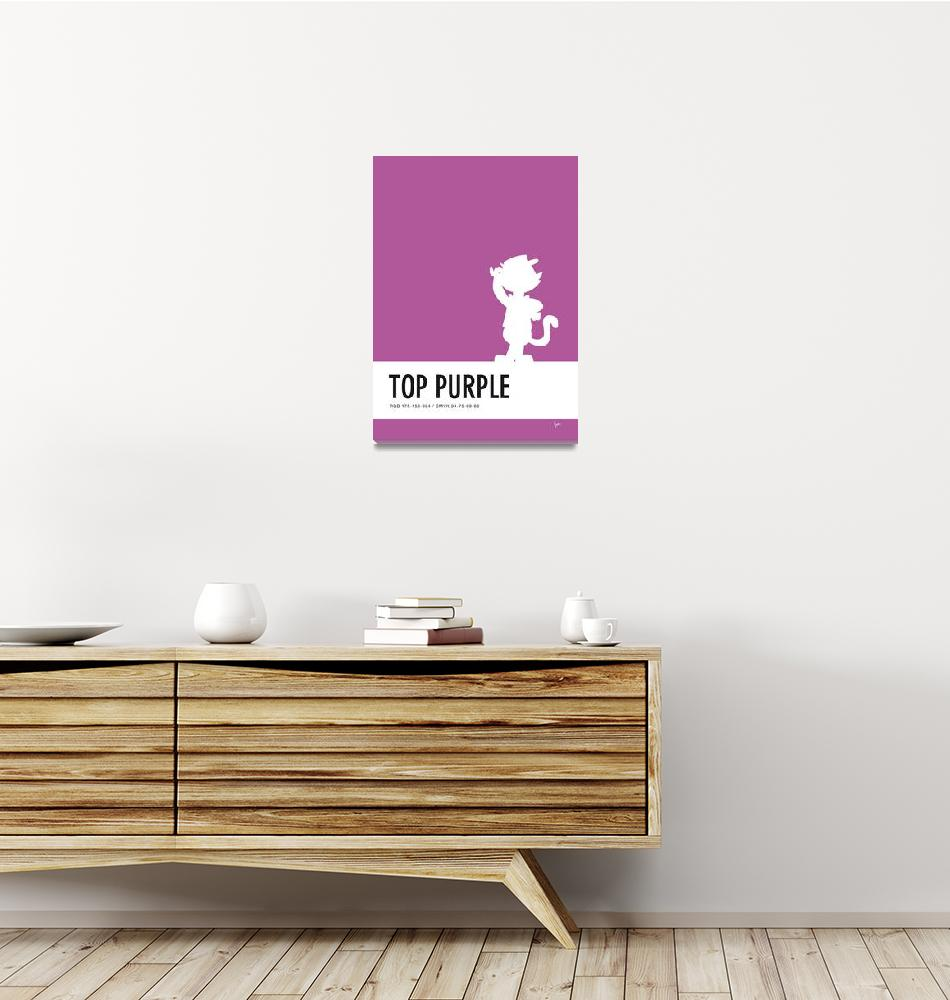 """No11 My Minimal Color Code poster Top Cat"" by Chungkong"