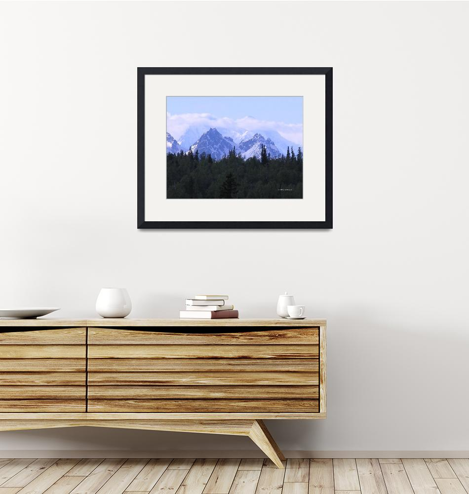 """Mt. McKinley  Alaska""  (2007) by eagleswings"