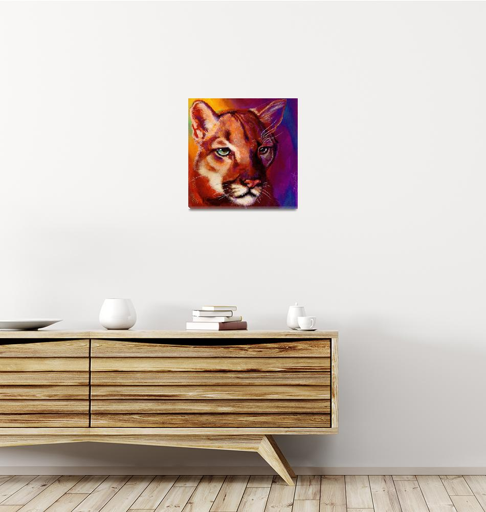 """""""Cougar""""  (2012) by artbeco"""