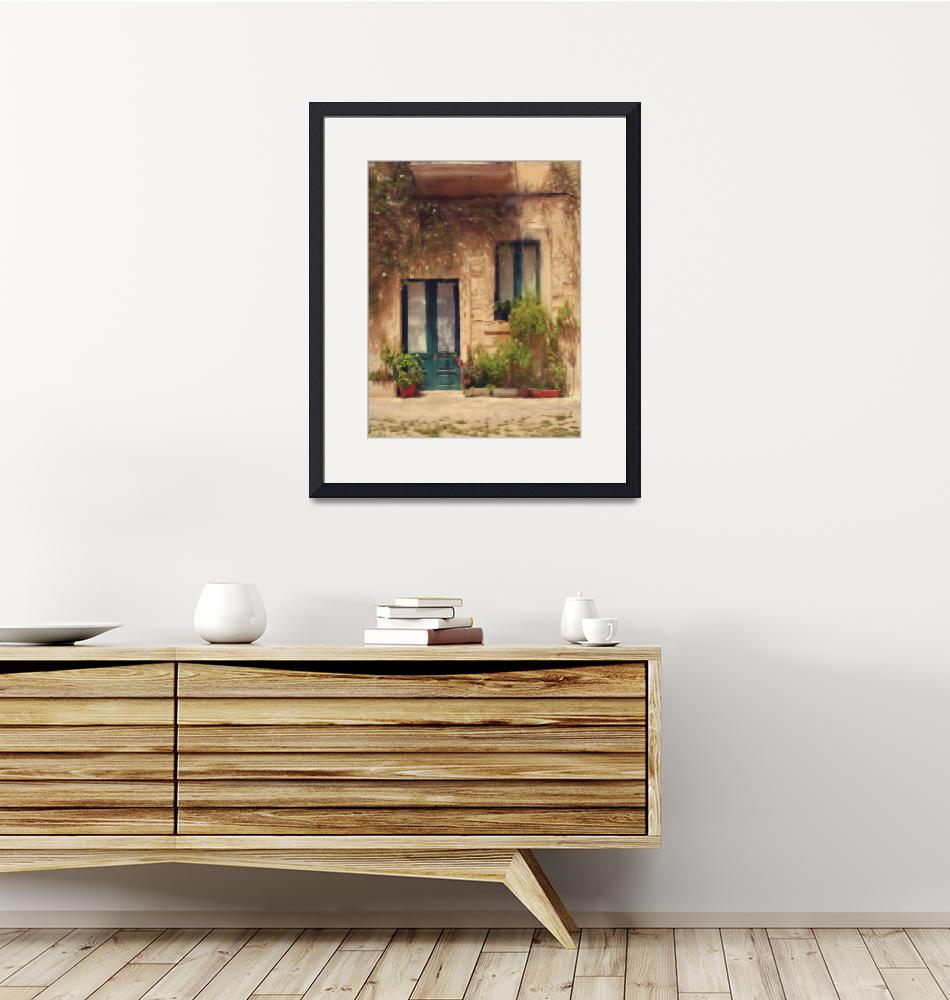 """""""Old house exterior""""  (2010) by clickinart"""