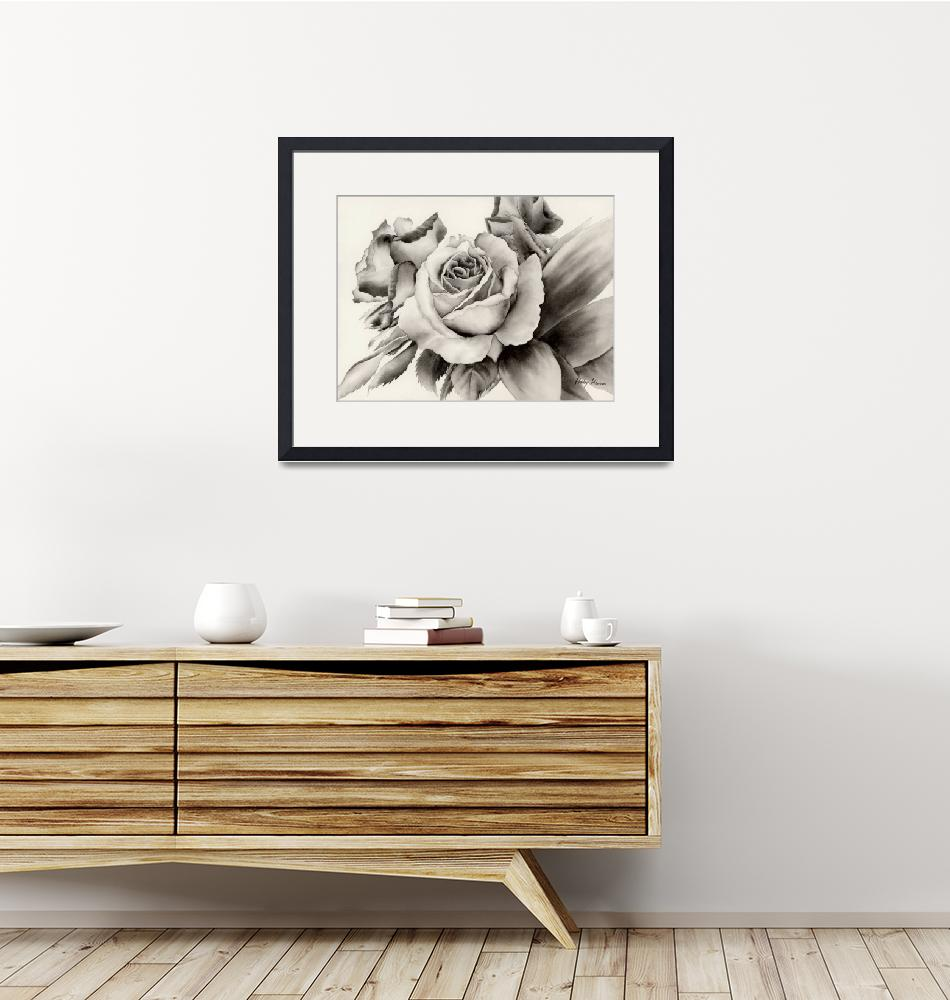 """""""Rose Bouquet"""" (2011) by HaileyWatermedia"""