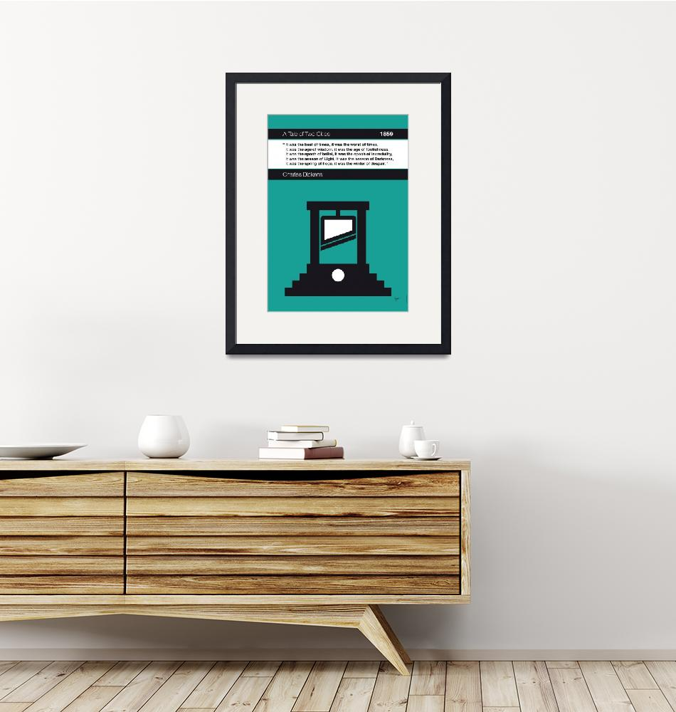 """""""No009-MY-Tale of Two Cities-Book-Icon-poster""""  by Chungkong"""