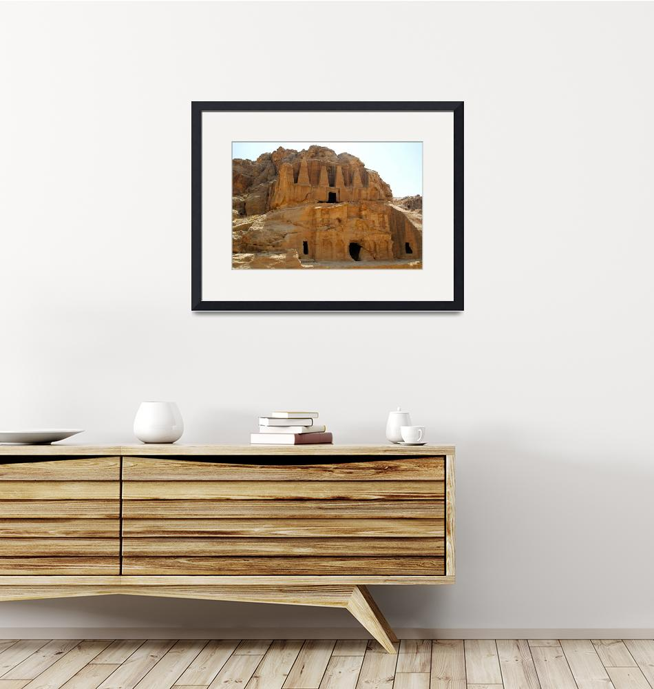 """""""Unfinished Temple Outside the Canyon""""  (2007) by JoaoPonces"""