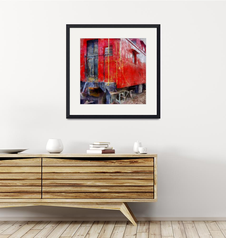 """""""Old Red Caboose""""  (2013) by Michelle1991"""