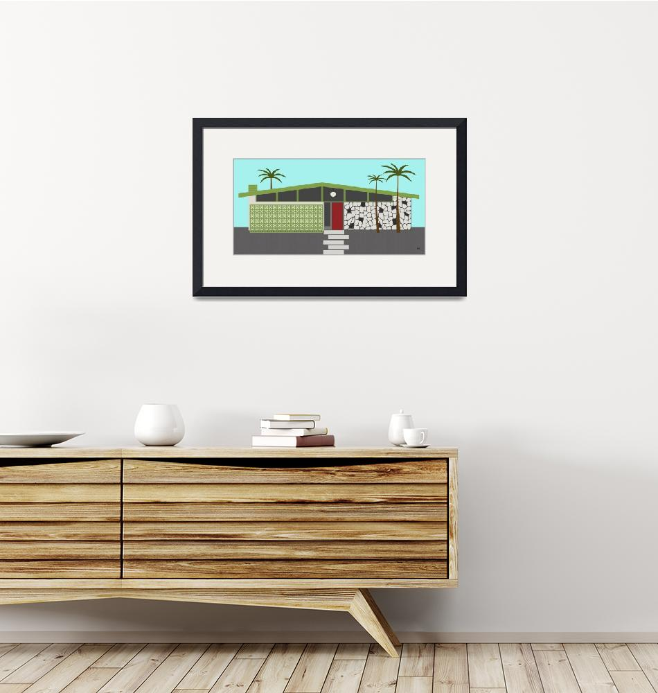 """""""Mid Century House 4""""  (2014) by DMibus"""